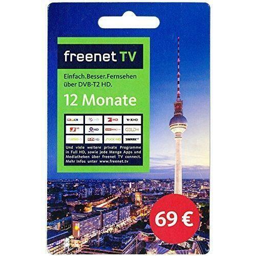 Freenet TV Verlängerung für 12 Monate