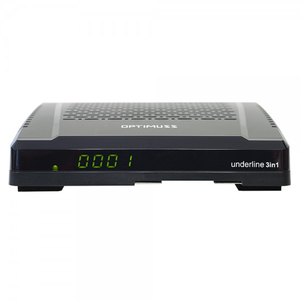Edision Optimuss underline 3in1 HD Sat-Kabel-DVB-T Receiver