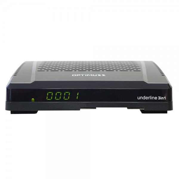 Edision Optimuss underline 3in1 HD Sat-Kabel-DVB-T Receiver