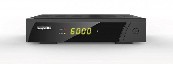 Digitaler Satelliten Receiver FTA Digiquest 8000 Full HD PVR front vorne