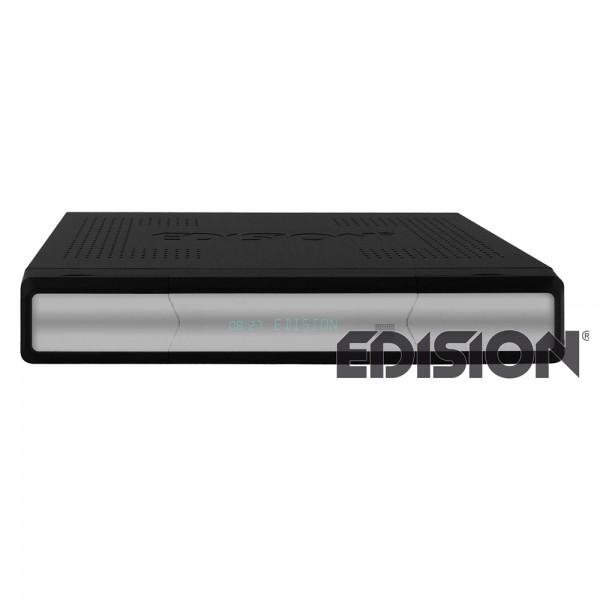 Edision Argus VIP HD DVB-C für Kabelempfang schwarz