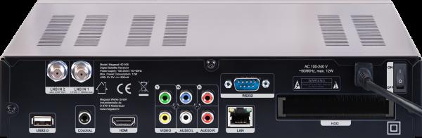 Megasat HD 935 X Hinten