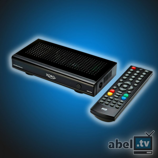 Xoro HRS 8540 Satelliten-Receiver HDTV HDMI schwarz