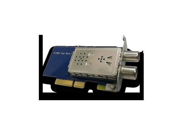 Axas DVB-C/T2 Hybrid Dual 4k HDTV Kabel Tuner