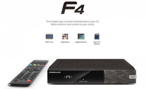 Formuler F4 HD Linux E2 CA USB CI (2x750 Mhz) HDTV Sat Receiver