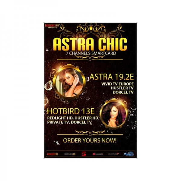 Redlight ELITE CHIC 7 Sender Astra/Hotbird Viaccess Card 12 Monate