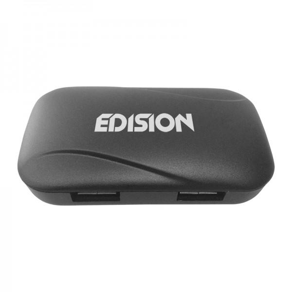 USB EDI-Hub 4-PORT Front schräg oben