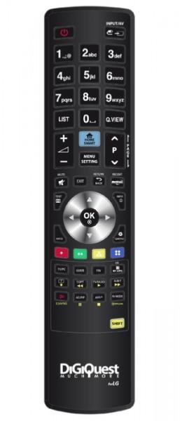 DigiQuest Fernbedienung für LG-Geräte (TV, LCD, LED, PLASMA)