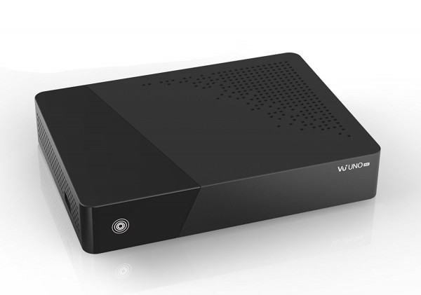 VU+ Uno 4K 1x DVB-C FBC Tuner Linux Receiver UHD 2160p schwarz