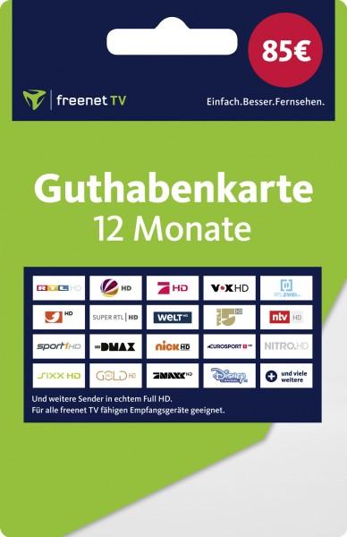 Freenet TV Verlängerung für 12 Monate (Das Geld wird vereinnahmt im Namen der Media Broadcast GmbH)