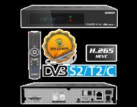 Edision OS mini + DVB-S2/T2/C Übersicht