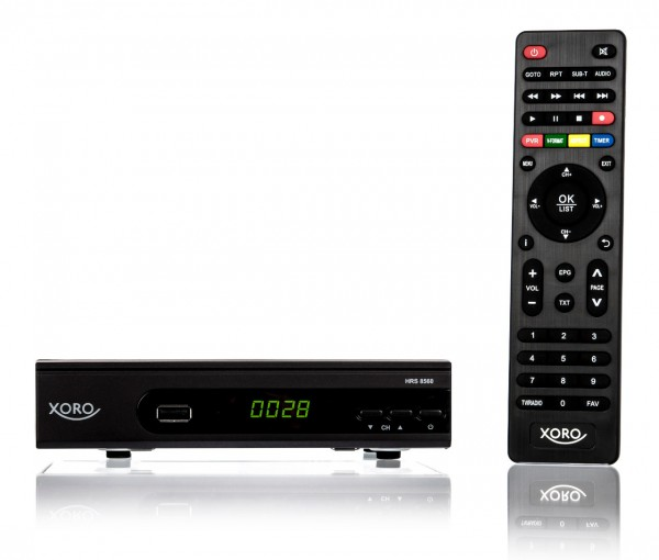 Xoro HRS 8560 Satelliten-Receiver HDTV HDMI schwarz