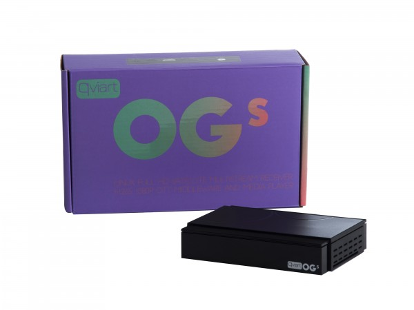Qviart OGs Linux Full HD Sat-Receiver Multistream H.265 1080p OTT Middleware Mediaplayer