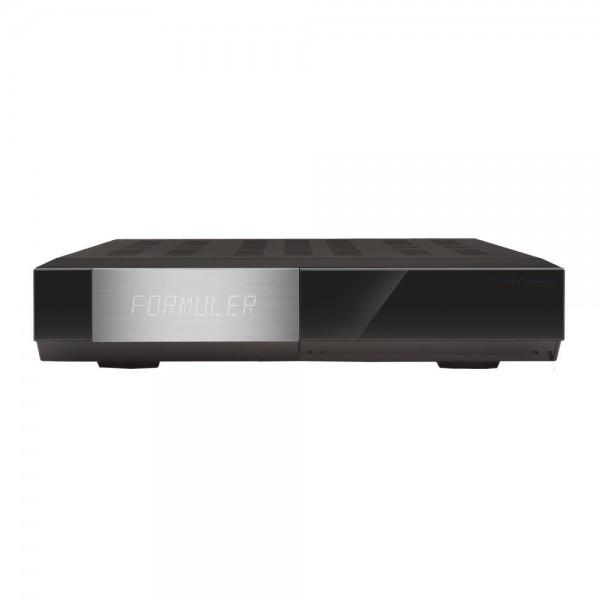 Formuler F1 E2 HD Triple 1.3GHz Full HD Linux HbbTV Receiver, 2x DVB-S2 front vorne