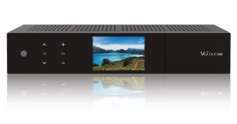 VU+ Duo 4K UHD Satreceiver 2x DVB-S2X FBC Twin Tuner Linux Receiver