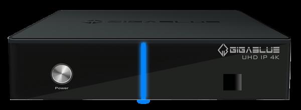 GigaBlue UHD IP 4k Receiver mit 1x DVB-C/T2 Twin Tuner