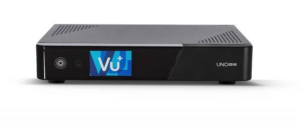 VU+ Uno 4K SE 1x DVB-S2 FBC Front