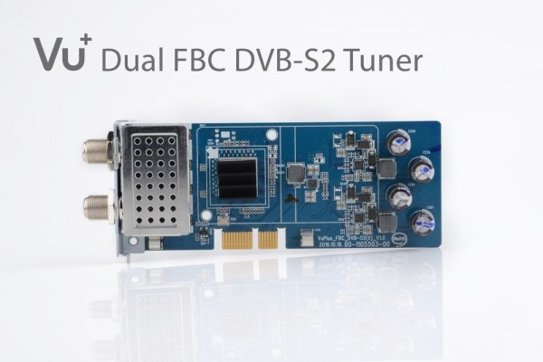 VU+ DVB-S2 FBC Tuner Uno 4K / Ultimo 4K (8 Demodulatoren)