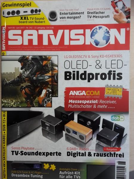 Zeitschrift SatVision Juni 2017