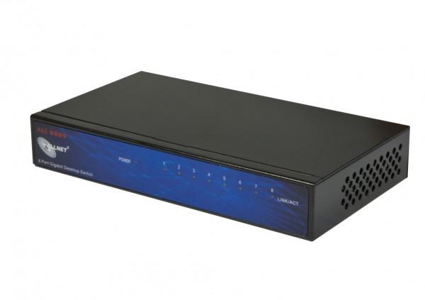 Allnet GigaBit Netzwerk Switch 8 Port 10/100/1000TX ALL8889V5