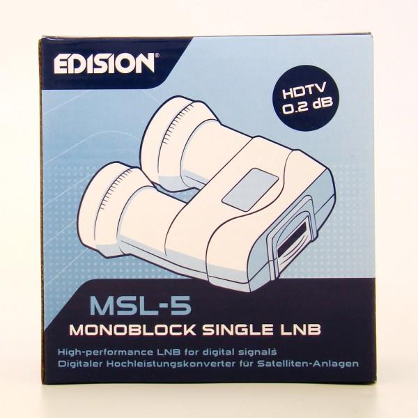 Edision Single Monoblock LNB MSL-5 Universal