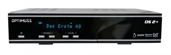 Edision Optimuss OS2+ Plus Linux HD Sat Receiver - Frontansicht