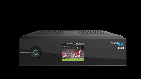 Protek 4k UHD Satreceiver 1x DVB-S2 Linux E2 Receiver OATV