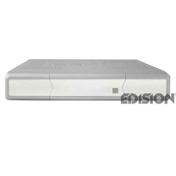 Edision Argus VIP HD DVB-S2 HDTV Satellitenreceiver silber