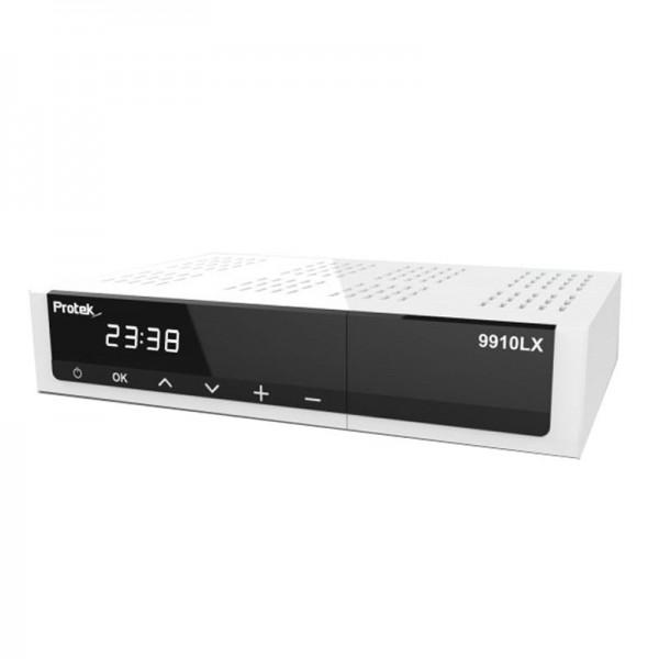 Protek 9910 LX HD E2 Linux HDTV Sat Receiver front vorne
