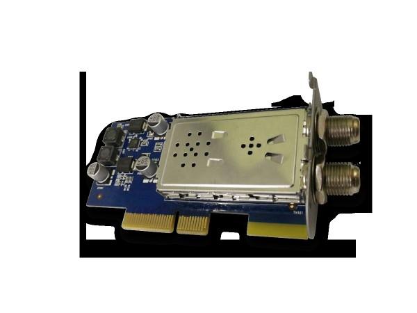Axas Plug & Play Tuner DVB-S/S2X Sat Dual HDTV 4k Tuner