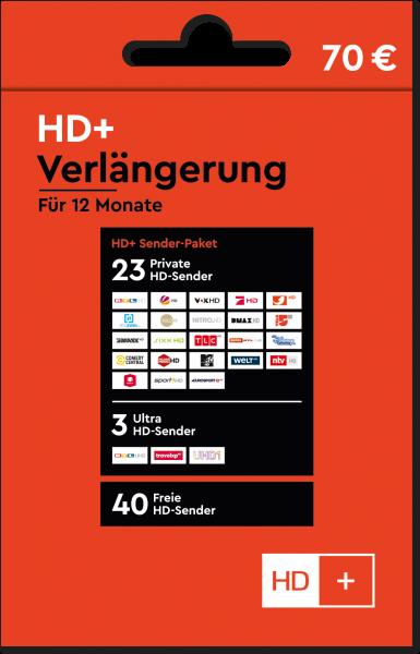 HD+ Verlängerung Vorne