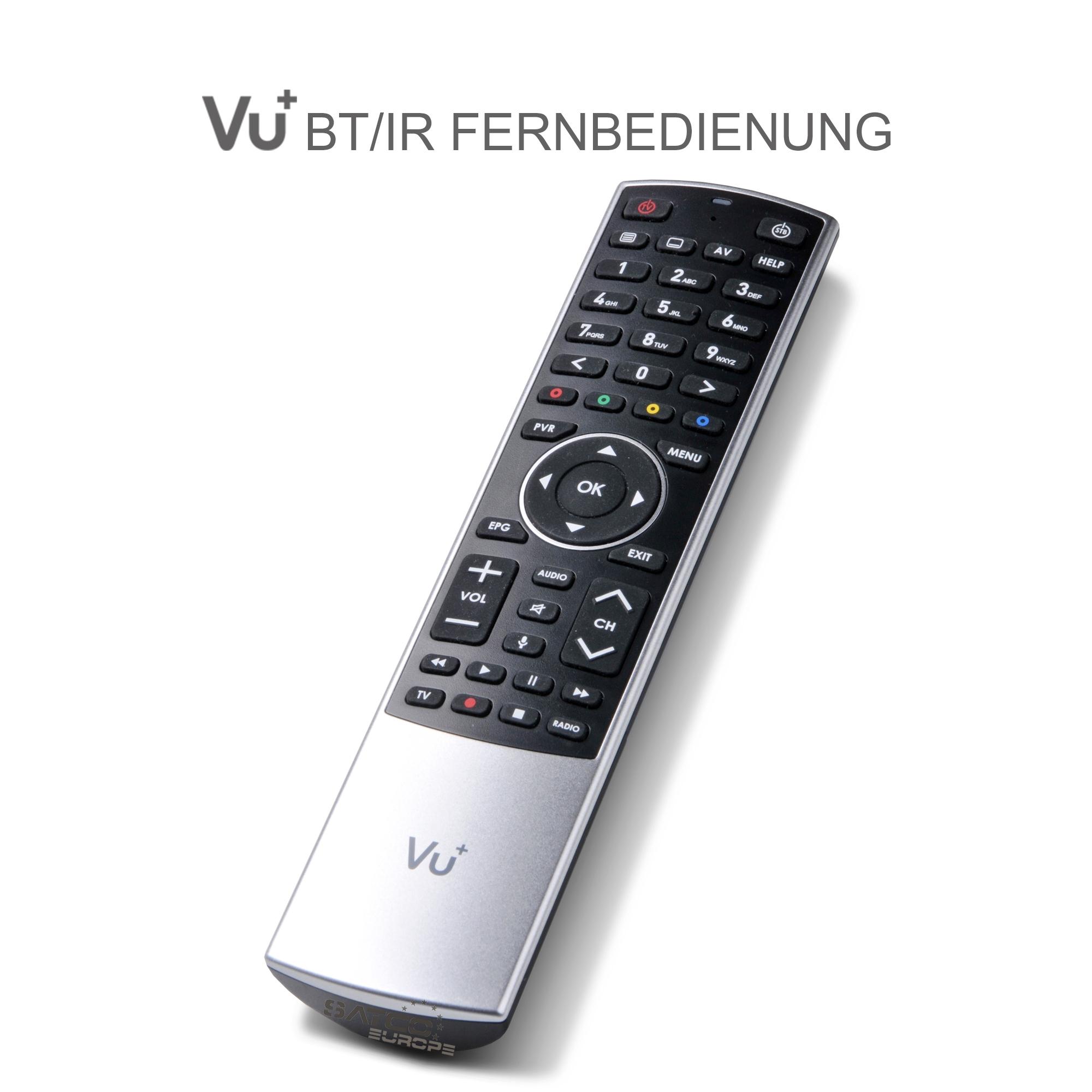 VU+ Bluetooth Fernbedienung für Ultimo 4k und Bluetooth Dongle 4k Modelle 13034