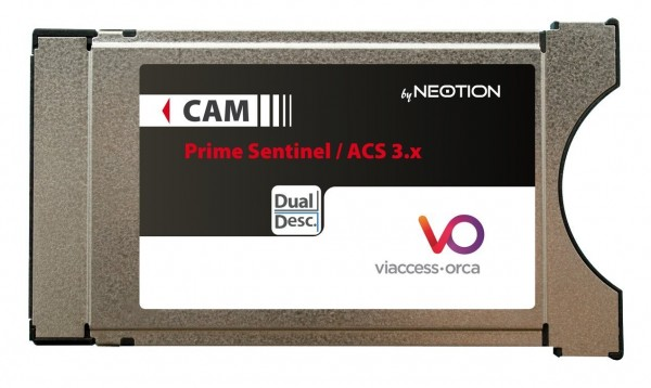 Neotion Viaccess Secure CAM Dual Descrambling Orca ACS CW64
