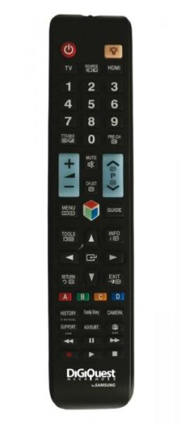 DigiQuest Fernbedienung für Samsung-Geräte (TV, LCD, LED, PLASMA, 3D, 4K)