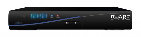 BEWARE RX 8900 Combo HD digitaler DVB-S2 Satelliten Receiver und DVB-T Tuner 2in1 front vorne