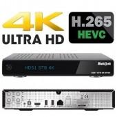 Mutant HD51 Hevc 265 Ultra HD 4K 2160p Linux E2 1x DVB-S2 Tuner Übersicht