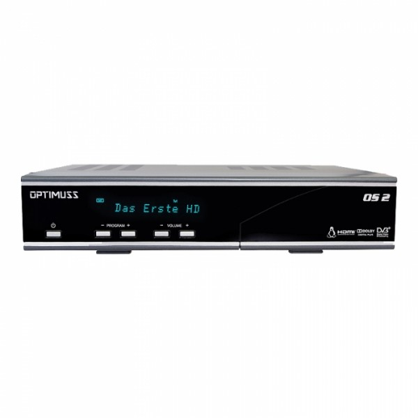 Edision Optimuss OS2 Linux Twin HD Sat Receiver