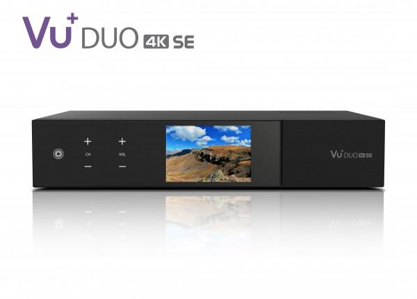 VU+ Duo 4K SE 1x DVB-C FBC Linux Twin Kabel-Receiver UHD 2160p PVR