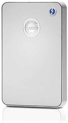 HGST G-Drive Mobile 1 TB externe Festplatte tragbar mit Thunderbolt und USB 3.0 0G03040 bulk