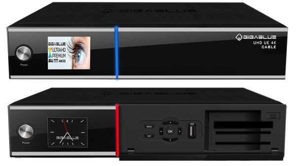 GigaBlue UHD UE 4K Kabelreceiver FBC Twin Kabeltuner