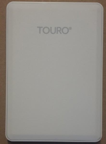 Touro Mobile 1 TB 1000 GB externe Festplatte weiß HGST HDD USB 3.0 5400 RPM bulk 0S03932
