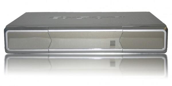 Edision Argus VIP HD DVB-C für Kabelempfang silber